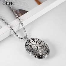OUFEI gold necklace women stainless steel pendant necklace chain Stylish simplicity necklace luxury silve chain jewelry stylish solid color chain necklace for men