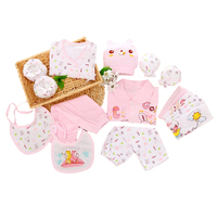 100 Cotton 18pcs Set Spring Autumn Baby Clothing For Newborn Baby Girl Boy Clothes Sets For