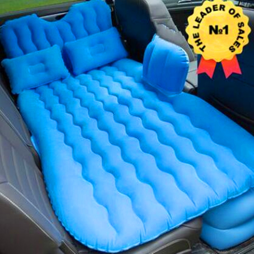 Gonflable Car Back Seat Cover Travel Bed Air Bed Inflatable Car Bed Lit Voiture Air Mattres