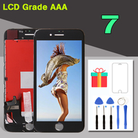 1PCS Grade AAA LCD No Dead Pixel For IPhone 7 7G Display With 3D Touch Screen