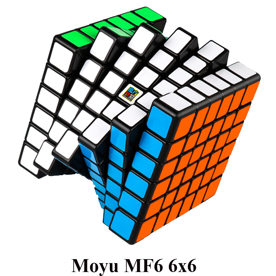 MoYu Cubing Classroom 6Layer MF6 6x6x6 Cube Black/Stickerless MF Puzzle Cube Toys For Children MagicCube moyu mofangjiaoshi 2x2 3x3 4x4 5x5 speed cube gift box packing professional puzzle cubing classroom mf2s mf3rs mf4s mf5s cube
