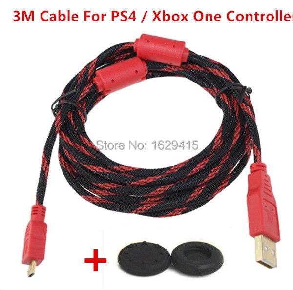 IVYUEEN 3 Mt 10ft Hallo-Speed Micro-usb-ladekabel für PS4 Playstation 4 Dualshock 4 Pro Schlanke Für XBox One Wireless Controller