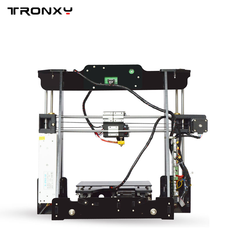 2017 New Big Acrylic Frame Reprap Prusa I3 DIY3D Printer 3D impressora KIT Machine with 1rolls filament LCD Screen 8G SD Card