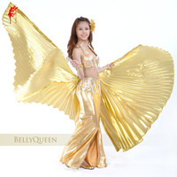 Wholesale Belly Dance Wing Women Belly Dance 2pcs Wing For Girls Professional Belly Dance Isis Wing