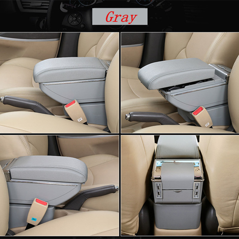 Leather Car Armrest for Volkswagen Santana in Armrests from Automobiles Motorcycles