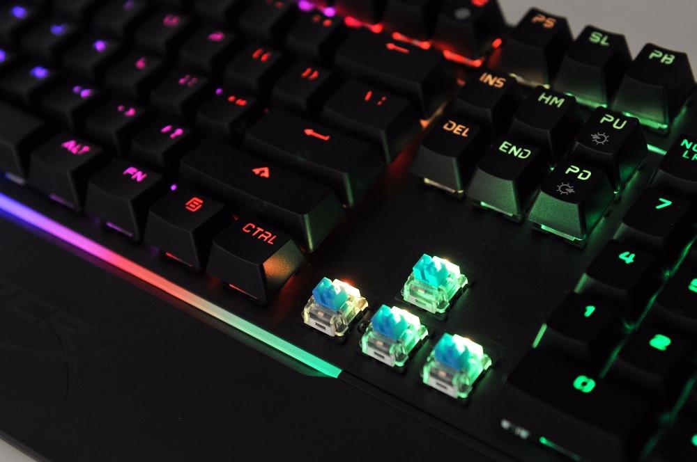 kingston hyperx mars rgb mechanical gaming keyboard adjustable key