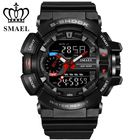 Fashion LED Digital Watches S Shock Men Sports Watches Electronic Analog Digital Outdoor Army Watch Clock Mens Quartz Watches
