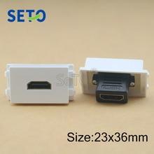 SeTo 128 Тип 2,0 HDMI модуль непосредственно штекер HDMI разъем Keystone для настенной плиты гнездо