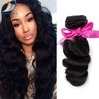 Sevengirls Natural Color Malaysian 9A 1Bundle Loose Wave Virgin Hair Weaving 100% Human Hair Bundles Hair Weft For Women