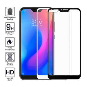 Image 5 - Protective Glass on For Xiaomi mi a2 lite light Full Cover on xiomi mia 2 light Screen Protector Tempered Glass for redmi 6 pro