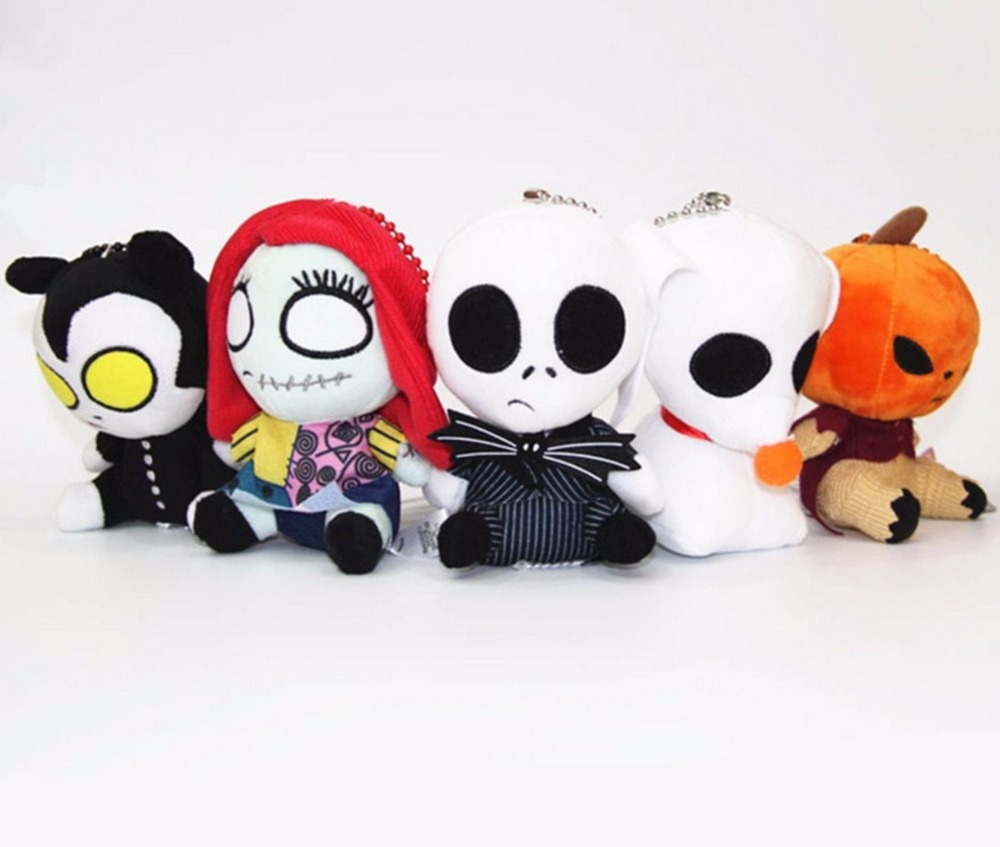 5pcs/set The Nightmare Before Christmas JACK Pumpkin King Sally ...