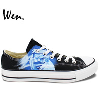 Low Top Sneakers Canvas Shoes Painted Shoes Custom Christmas Gifts Birthday Gifts Womens Mens Shoes Naruto