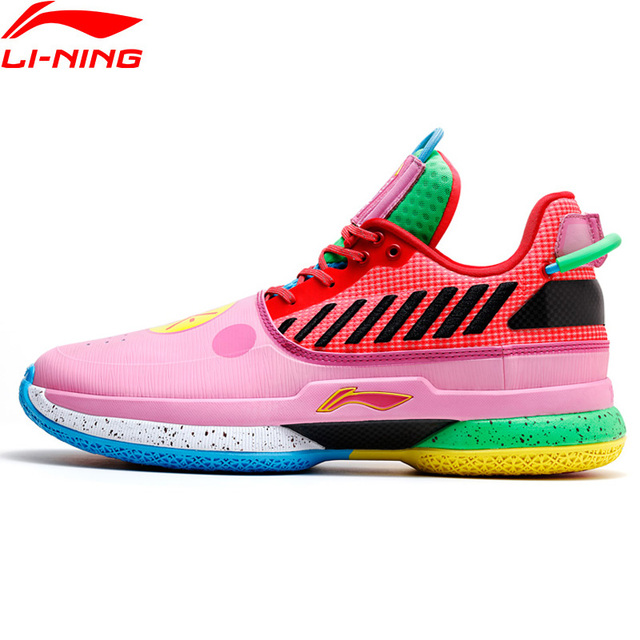 Li-Ning Men WOW 7 'Chinese New Year' Professional Basketball Shoes Cushion LiNing CLOUD Sport Shoes Sneakers ABAN079 XYL212