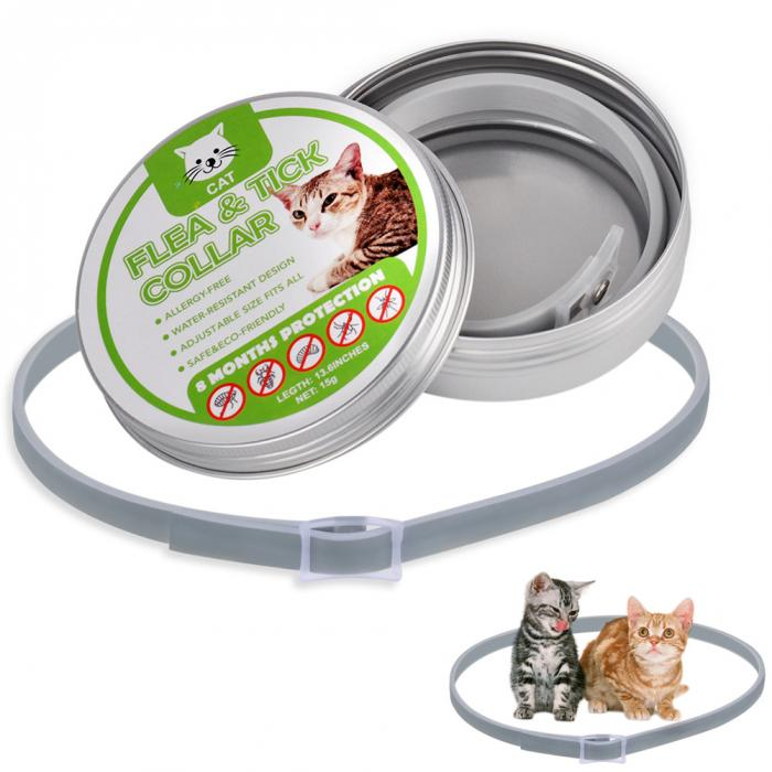 8 Month Flea And Tick Collar For Cat