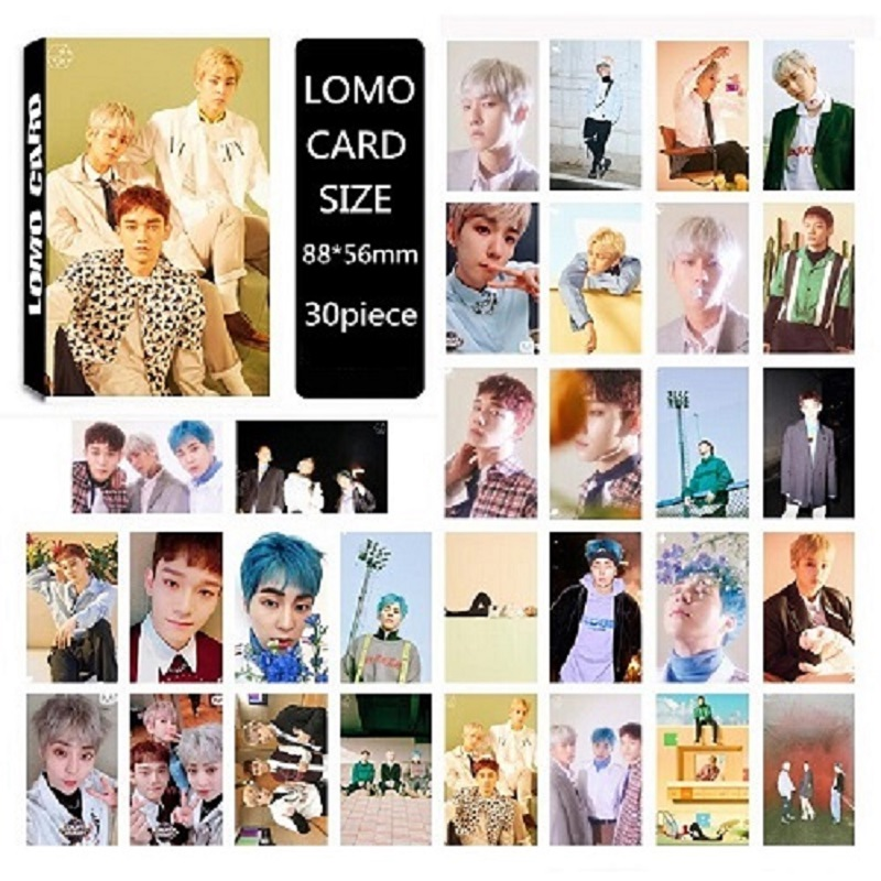 Systematic Kpop Exo Cbx Chen Baekhyun Xiumin Blooming Days New Album Lomo Cards K-pop Self Made Paper Photo Card Hd Photocard Jewelry & Accessories
