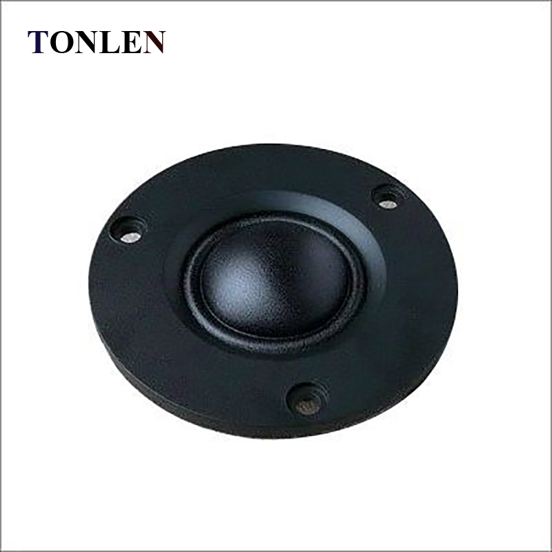 TONLEN 2PCS HIFI Tweeter Unit 2 inch ABS Frost Panel Fiber Membrane Neodymium <font><b>Speaker</b></font> <font><b>15W</b></font> <font><b>8ohm</b></font> Treble Horn DIY Audio Loudspeaker image