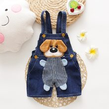 Diimuu Zomer Overalls Shorts Jongens Meisjes Denim Jumpsuits Peuter Kleding Cartoons Hond Casual Jeans Speelpakjes Baby Kleding(China)