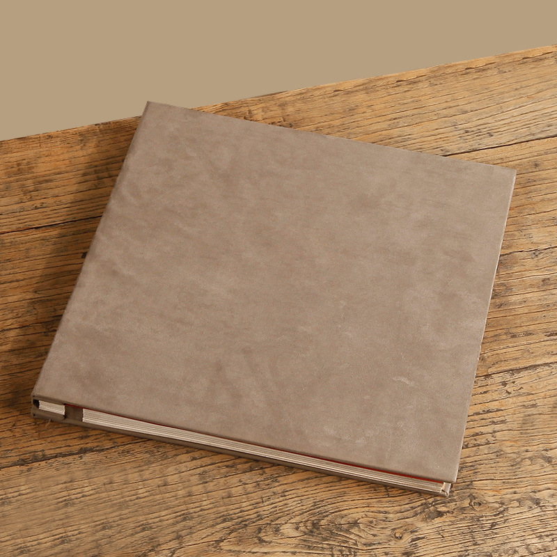 top grade large inserts leather photo albums scrapbook wedding guest book polaroid 18 inch photo
