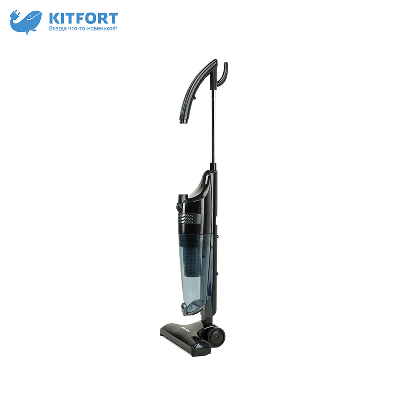 Vertical vacuum cleaner Kitfort KT-525-2 wireless vacuum cleaner kitfort kt 515 home portable powerful handheld dust collector stick wireless vertical dry cleaning cyclone
