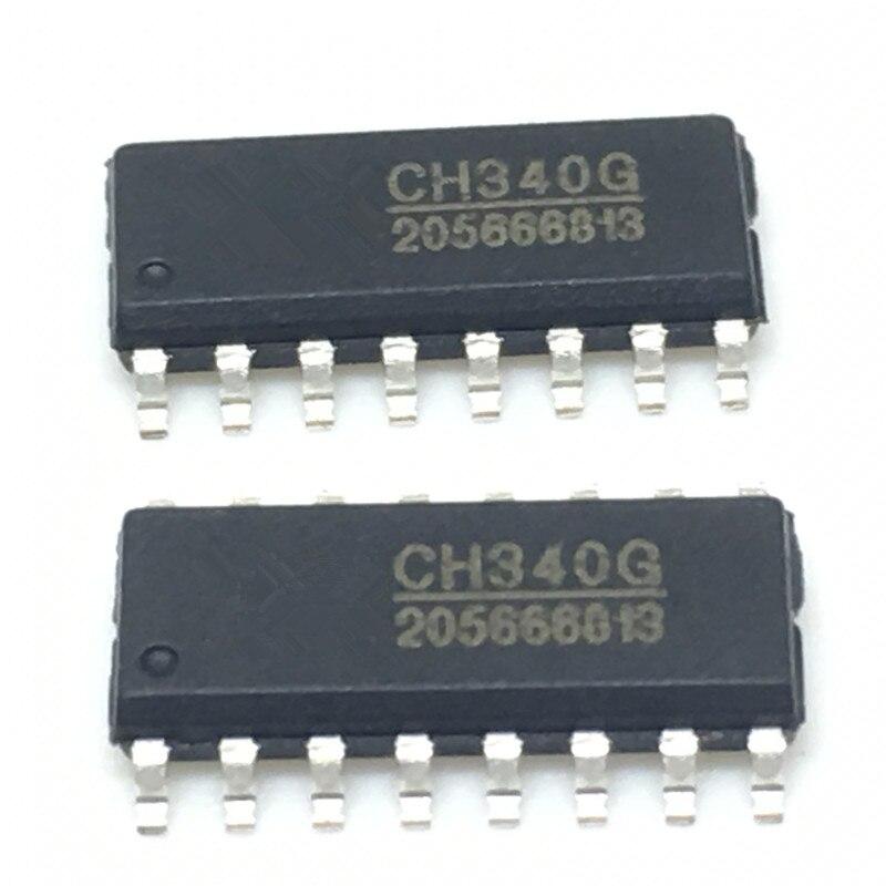 2PCS Original CH340G IC R3 Board Free USB Cable Chip SOP-16