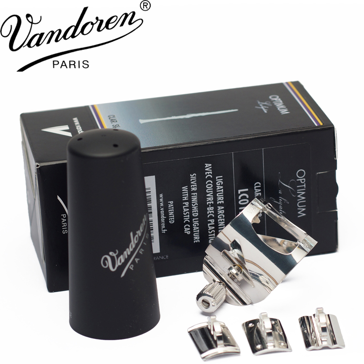 France Vandoren clarinet Hard rubber bakelite mouthpiece metal clip variable sound card clarinet ligature LC01P