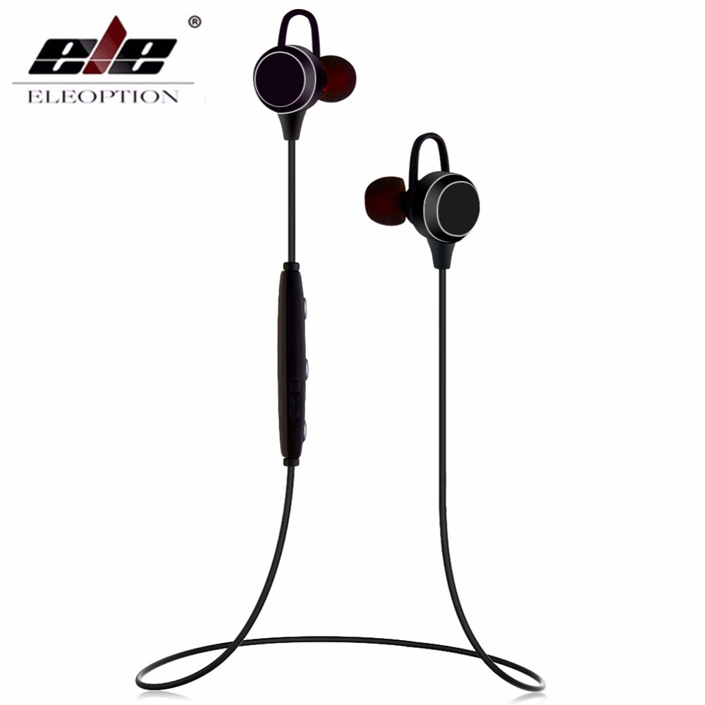 ELE ELEOPTION Wireless Sport Headphones Stereo Bluetooth Magnetic Headset Earphone Bluetooth Earbuds fone de ouvido magnet showkoo stereo headset bluetooth wireless headphones with microphone fone de ouvido sport earphone for women girls auriculares