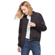 2019 Winter Womens Jacket Street Embroidered Women Quilted Baseball Down