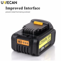 20V Battery Replacement 3.0Ah Lithium Ion for Dewalt Max Premium XR DCB204 DCB200 DCB180 DCD985B DCD771C2 Cordless Power Tools