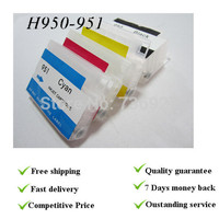 4 Colors With Permanent Chips Empty Refill Cartridge Suit For Hp950 Hp951 Suit For Hp8600 Printer