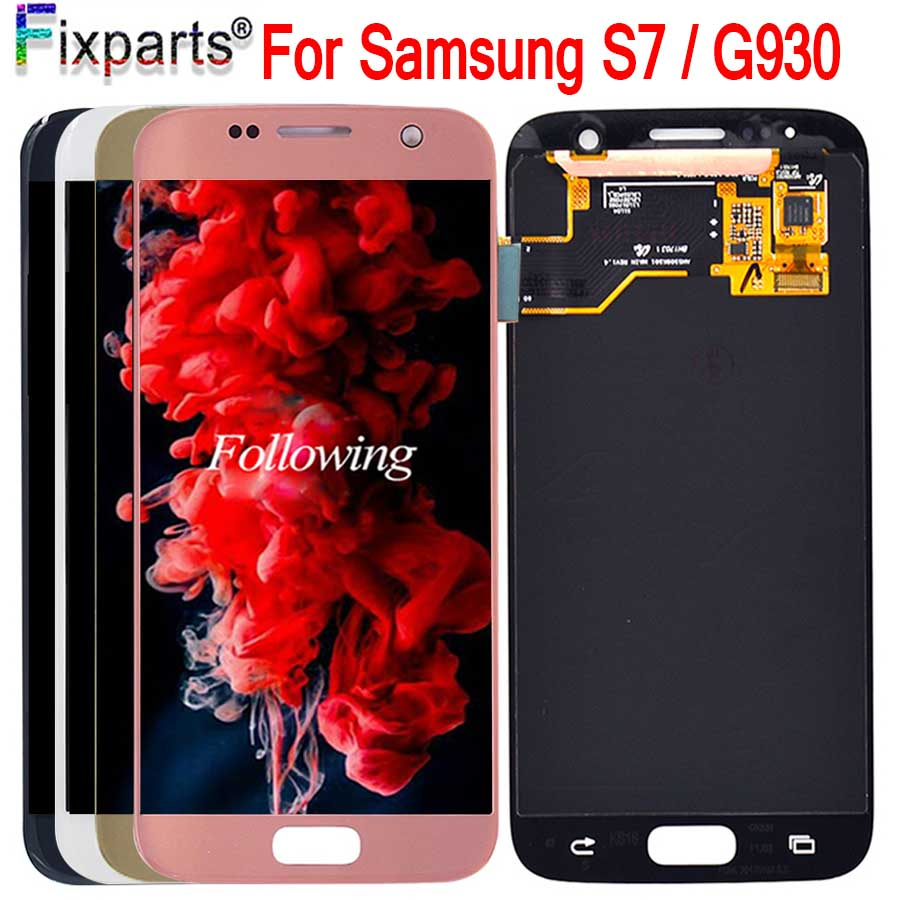 5.1 For SAMSUNG GALAXY S7 G930 LCD G930A G930F SM-G930F Display Touch Screen Digitizer Assembly Replacement For Samsung  S7 LCD5.1 For SAMSUNG GALAXY S7 G930 LCD G930A G930F SM-G930F Display Touch Screen Digitizer Assembly Replacement For Samsung  S7 LCD