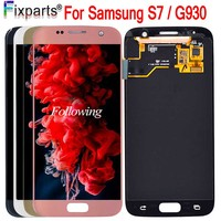 5.1 For SAMSUNG GALAXY S7 G930 LCD G930A G930F SM G930F Display Touch Screen Digitizer Assembly Replacement For Samsung S7 LCD