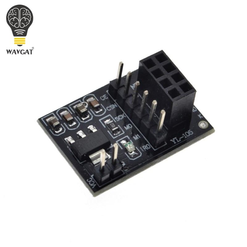5x socket adapter plate board for 8pin NRF24L01 Wireless transceive moduleBE