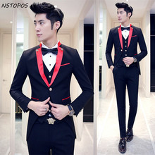 Popular Red Black Prom Suits-Buy Cheap Red Black Prom Suits lots ...