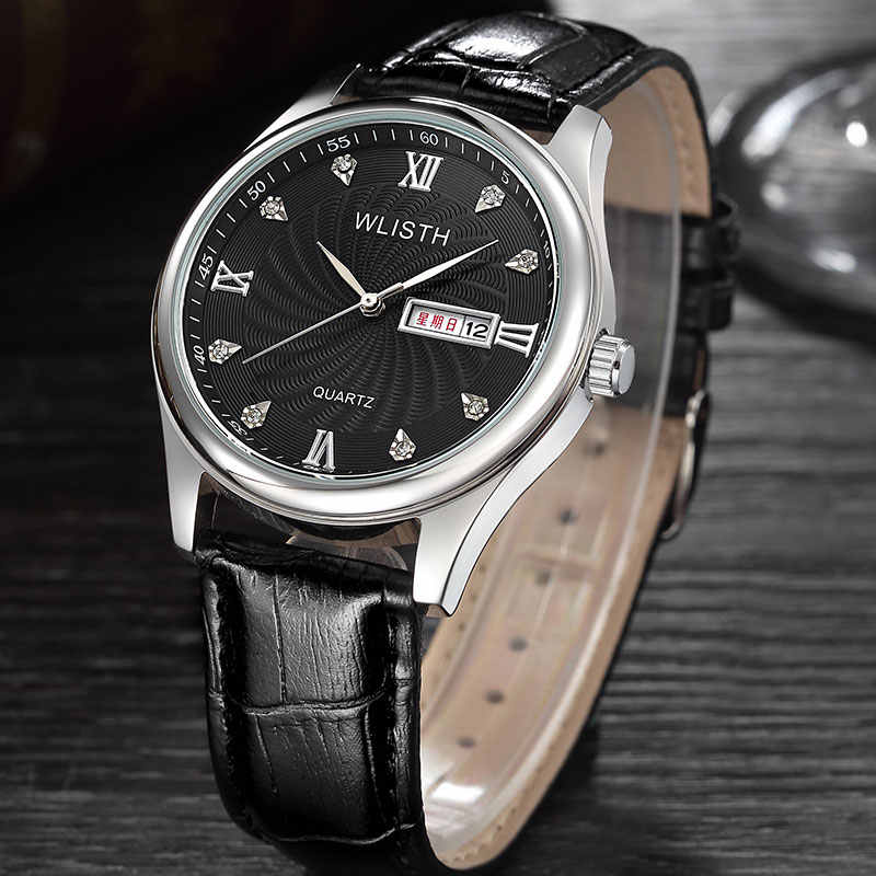 Wlisth новый топ Элитный бренд часы Мужская Мода Повседневное кварцевые нарядные часы Для мужчин Военная Униформа спортивный Водонепроницаемый часы Rolex_watch