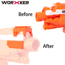WORKER Modified Toy Accessories Top and Side Rail Adapter Picatinny Base Set for Nerf Stryfe