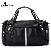 Fitness Gym Bag Travel Handbag for Women Men Large Capacity Stripe Shoulder Training Bags Bolso Sac De Sport Sporttas Sack XA66D
