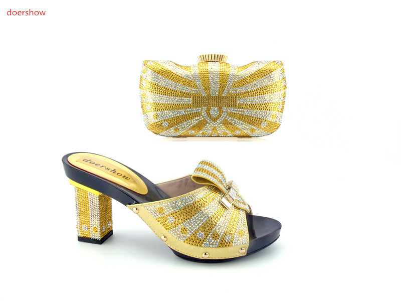 doershow free shipping fashion Italian shoes with matching bags set for wedding and party African shoes and bags  HJN1-5 куплю стенд проверки тнвд в г н челны