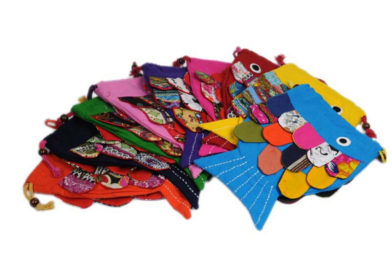 Hot Fashion fish Appliques Children Small Handbags Nice Appliques Kids Cute Shoulder Crossbody bags Top Girl