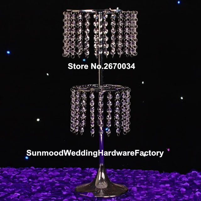 Wholesale Tall Clear Plastic Flower Vases Tall Big Planter In Glow
