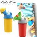 Moda para niños del bebé inodoro orinal entrenadores niño a prueba de fugas urinario niños niñas Potty que acampa del recorrido infantil suministros tyh-20458