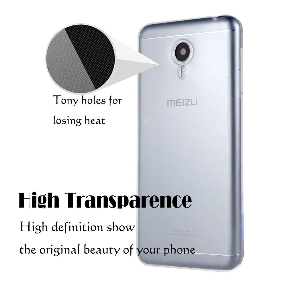 Untuk Meizu M5 M5S M5C Kasus Silikon Lembut TPU Ultra tipis - Aksesori dan suku cadang ponsel - Foto 4