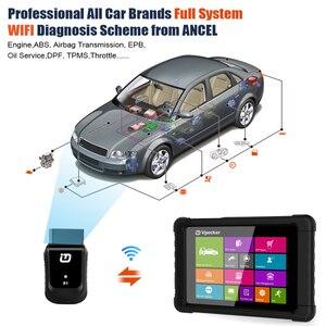 Image 2 - VPECKER Easydiag WiFi מקצועי OBD2 רכב סורק Tablet ABS SRS איפוס שמן DPF רכב אבחון כלי OBD2 WIFI סורק