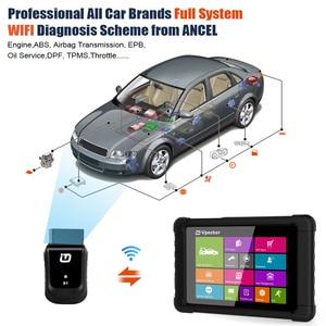 Image 2 - VPECKER Easydiag WiFi Professional OBD2 Automotive Scanner Tablet ABS SRS Reset Oil DPF Car Diagnostic Tool OBD2 WIFI Scanner