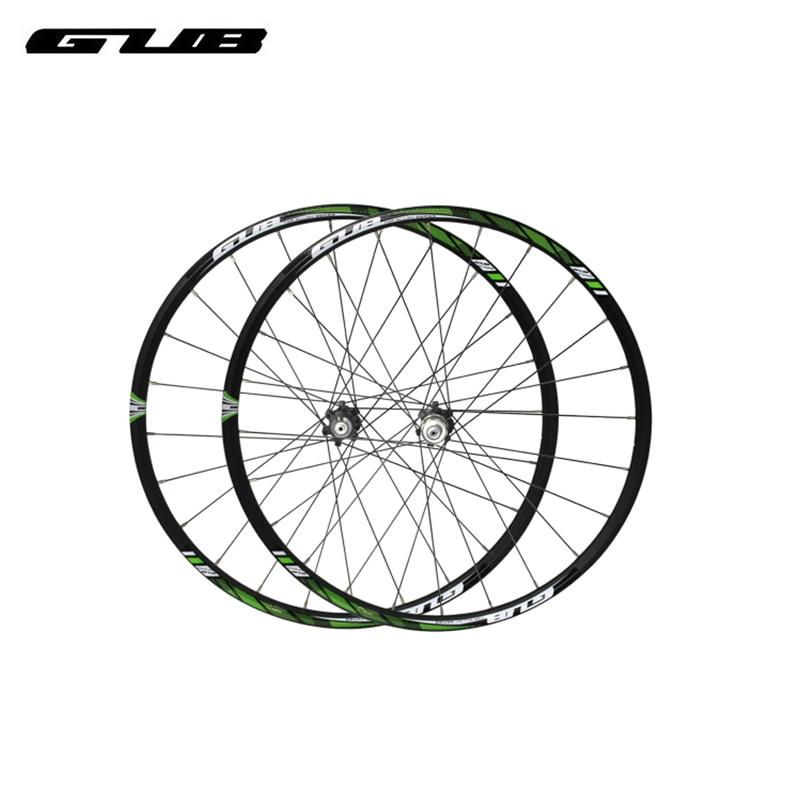 2pcs/lot GUB M1950 wheel group mountain bikes 26/27.5 inch 24 holes front and after Palin disc brake alloy horoz electric потолочный светильник hl744