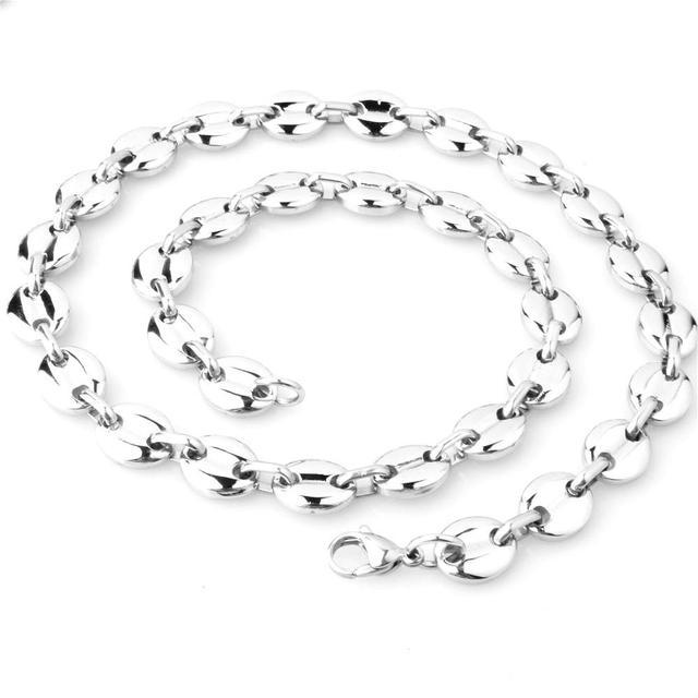 Button Necklace Man's...