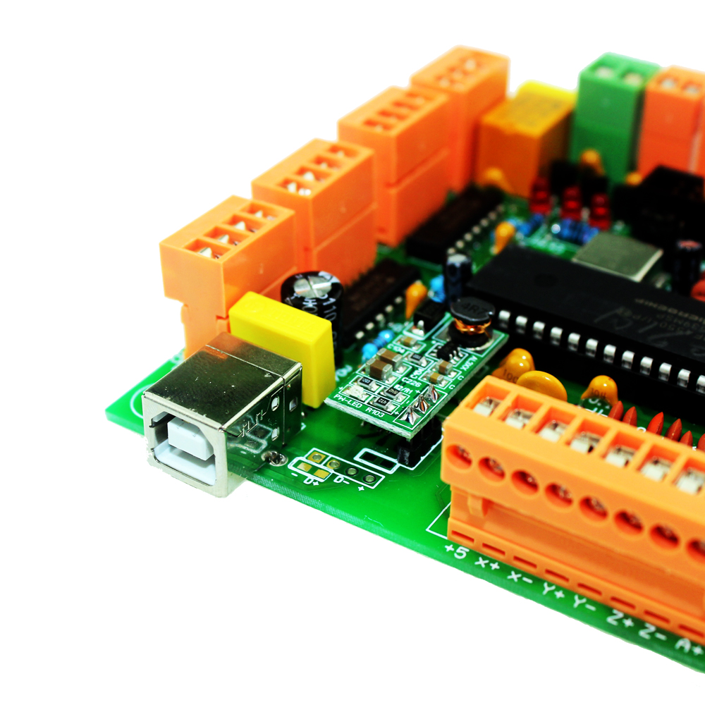 USBCNC 2.1 4 Axis USB CNC Controller Interface Board CNCUSB Substitute