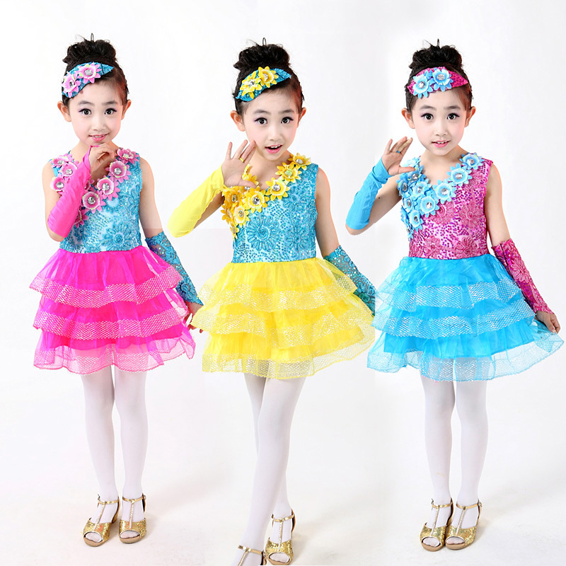 5c9e0d2a2dd3 ჱChildren s costumes girls sequined dance tutu children modern ...