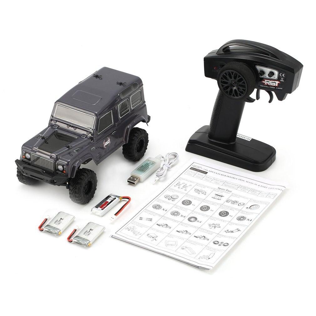 RGT 136240-D90 1/24 2.4 Ghz télécommande chenille électrique Simulation RC haute vitesse tout-terrain véhicule camion modèle de voiture jouet pour enfant