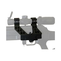 SEIGNEER Tactical ACOG AK 25.4mm 30mm Scope Side Mount for Airsoft Quick Detach AK Side Rail for 20mm picatinny rail Hunting