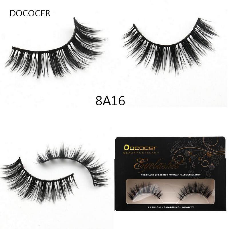 Popular Eyelashes 1 Pairs Soft Cross Thick False Eyelashes Fake Eye Lashes Natural Handmade Makeup Tools Charming